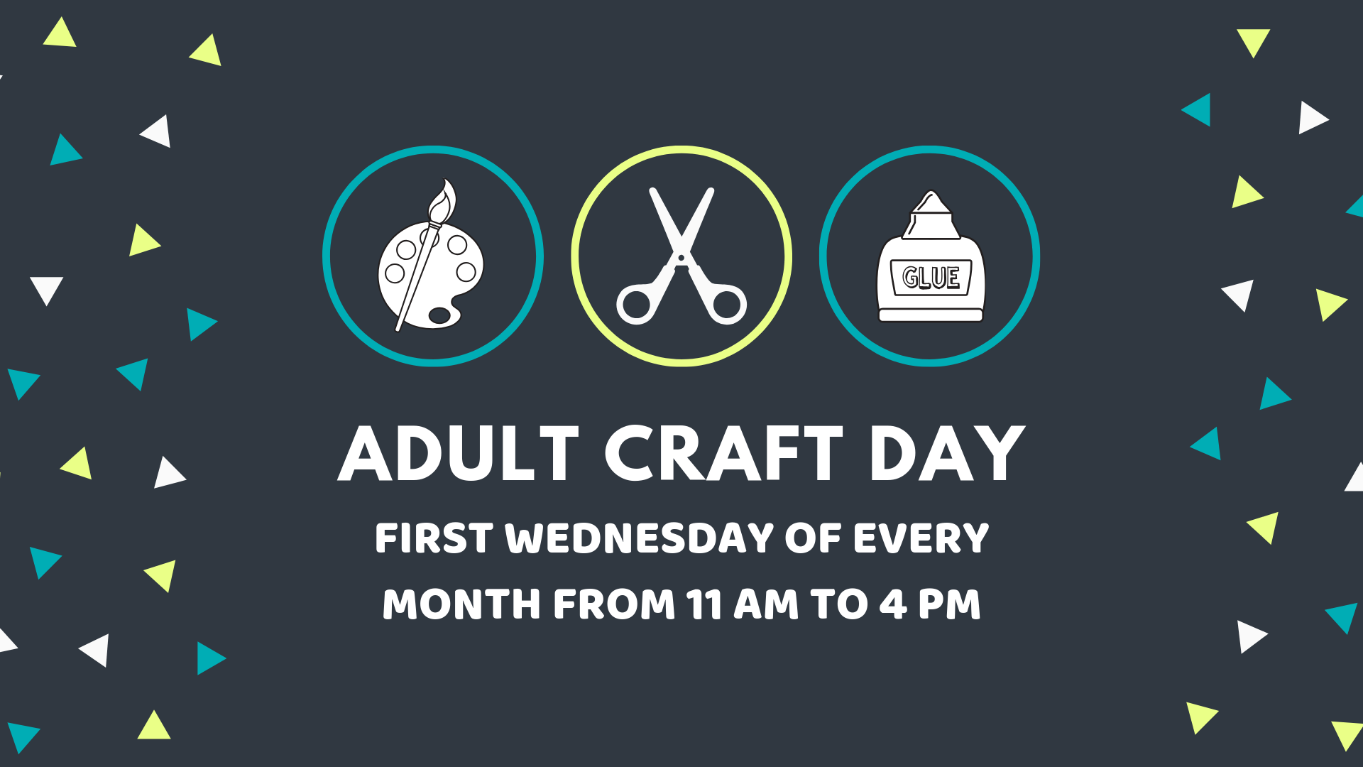 Adult Craft Day @ Adult Services Creative Space