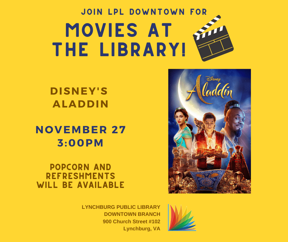 Movies at the Downtown Branch Library @ Downtown Branch Library