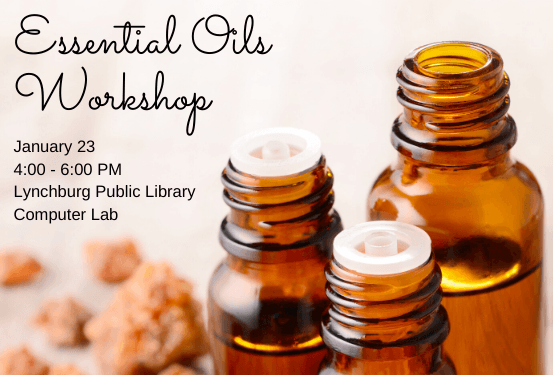 Essential Oils Workshop @ Adult Services Computer Lab and Creative Space