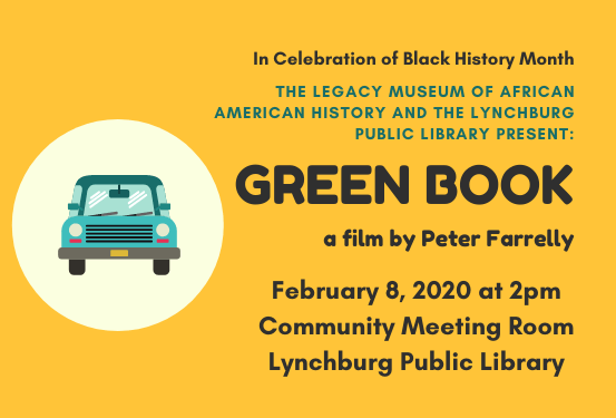 Green Book Film and Discussion @ Community Meeting Room