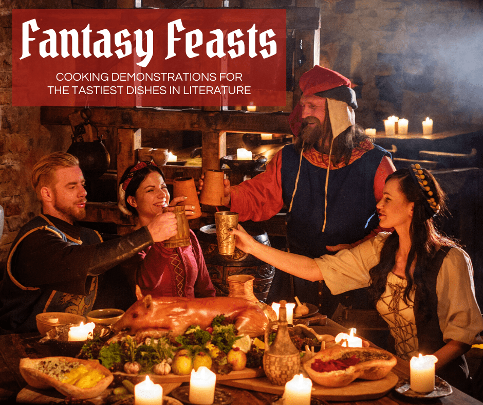 Fantasy Feasts Cooking Demo