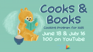 Cooks & Books - Kids Cooking Class