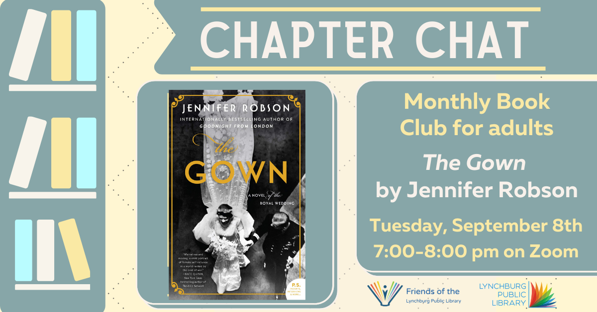 Chapter Chat: Book Club on Zoom
