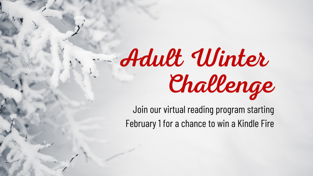 Adult Winter Reading Challenge