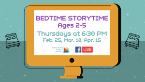Bedtime Storytime - Ages 2-5 (FB Live)