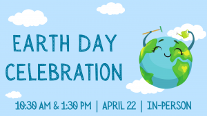 Earth Day Celebration *IN-PERSON* @ Lynchburg Public Library